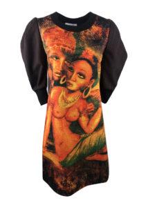Зимна рокля Африка