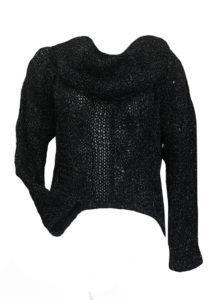 Черен секси пуловер