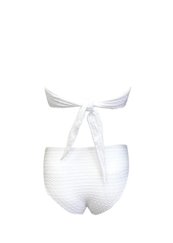 Луксозен бял бански