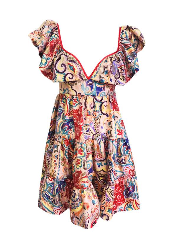 Лятна луксозна рокля