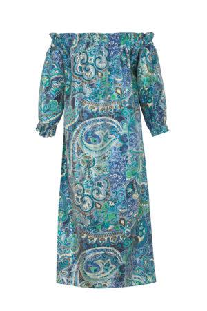 Копринена рокля